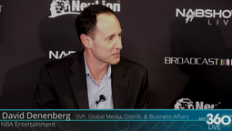 SVP Global Media Distribution & Business Affairs at NBA Entertainment, David Denenberg