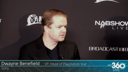 VP, Head of Playstation Vue at Sony, Dwayne Benefield