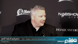 Director of Sales North American Channels at NewTek, Jeff McFadyen