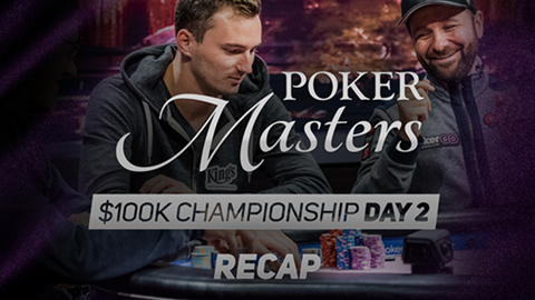 Poker Masters 100K Day 2 Recap