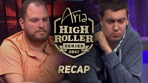 ARIA High Roller Series $25K Recap