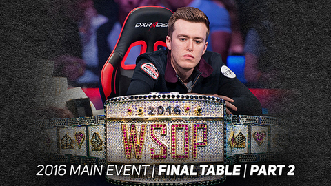 2016 WSOP Main Event | Episode 16
