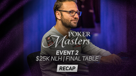 Poker Masters Event #2 Recap