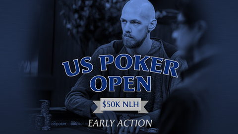 U.S. Poker Open 2019 | Event #9 $50K NLH | Early Action