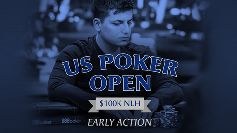 U.S Poker Open 2019 | Event #10 $100K NLH | Early Action