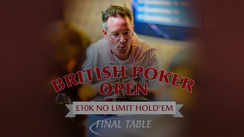 BRITISH POKER OPEN 2019 | EVENT #1 £10K NLH | FINAL TABLE