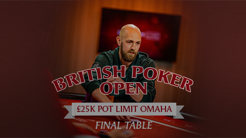 BRITISH POKER OPEN 2019 | EVENT #7 £25K PLO | FINAL TABLE