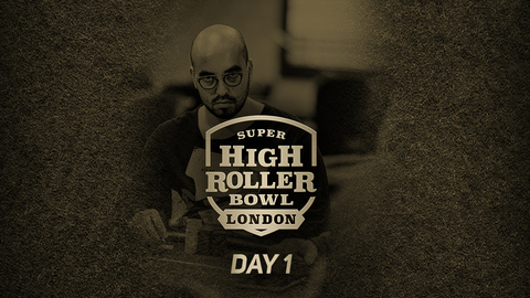 SUPER HIGH ROLLER BOWL LONDON 2019 | DAY 1