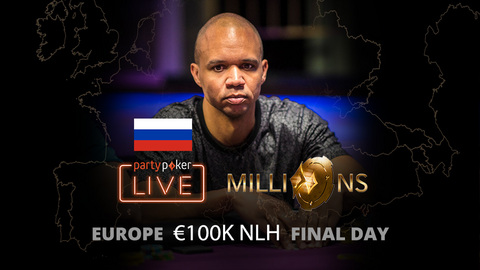 partypoker MILLIONS Europe   €100K NLH   Final Day (Russian)
