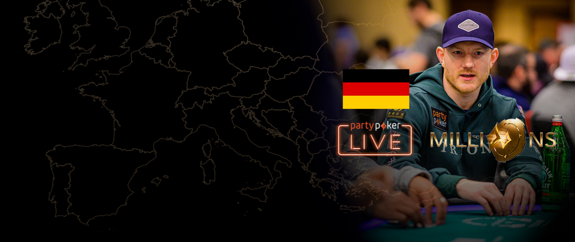 partypoker MILLIONS Europe | €25K NLH | Final Day (German)