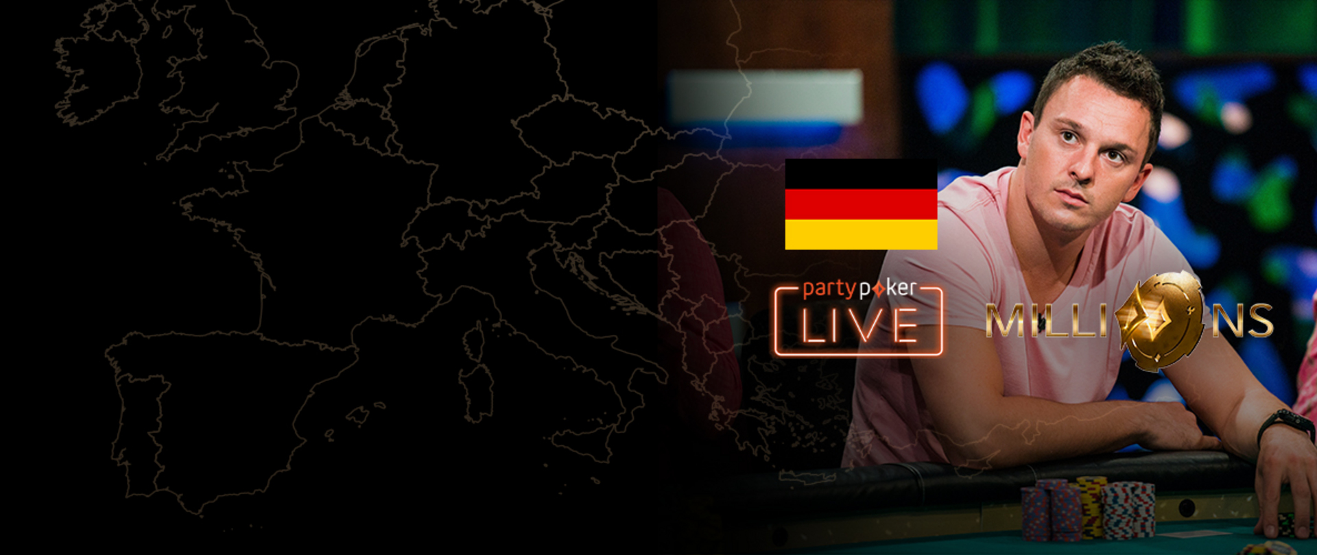partypoker MILLIONS Europe | €10K Main Event | Day 2 (German)
