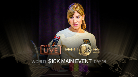 PARTYPOKER MILLIONS WORLD | $10K MAIN EVENT | DAY 1B