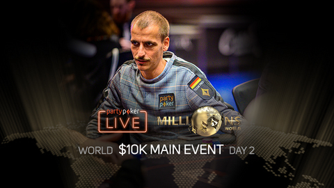PARTYPOKER MILLIONS WORLD | $10K MAIN EVENT | DAY 2