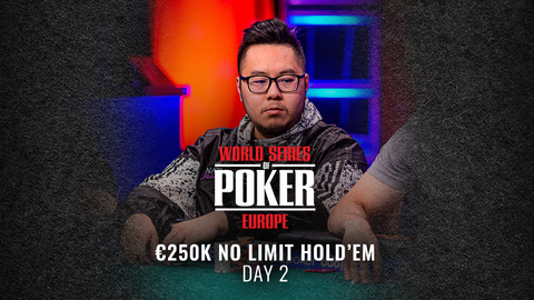 WSOP EUROPE 2019 €250K SUPER HIGH ROLLER NO LIMIT HOLD'EM | DAY 2