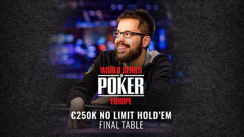 WSOP EUROPE 2019 €250K SUPER HIGH ROLLER NO LIMIT HOLD'EM | FINAL TABLE
