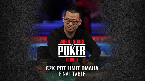 WSOP EUROPE 2019 €2,200K POT LIMIT OMAHA | FINAL TABLE