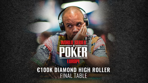 WSOP EUROPE 2019 €100K DIAMOND HIGH ROLLER NO LIMIT HOLD'EM | FINAL TABLE
