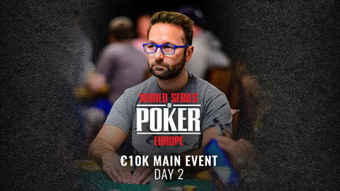 WSOP EUROPE 2019 €10K MAIN EVENT | DAY 2