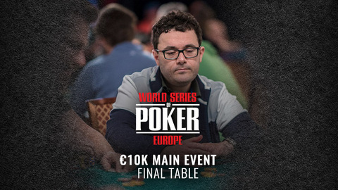 WSOP EUROPE 2019 €10K MAIN EVENT | FINAL TABLE