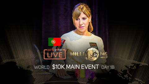 partypoker MILLIONS World 2019 | $10K Main Event | Day 1B (Portuguese)