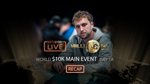 partypoker MILLIONS World | $10K Main Event | Day 1A Recap