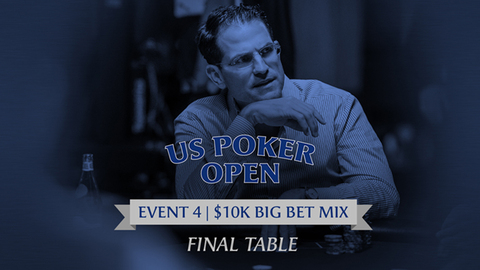 U.S. POKER OPEN 2020 | EVENT #4 $10K BIG BET MIX | FINAL TABLE