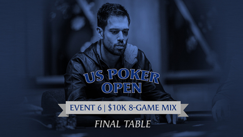 U.S. POKER OPEN 2020 | EVENT #6 $10K 8-GAME MIX | FINAL TABLE