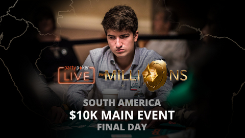 partypoker MILLIONS South America 2020 | $10K Main Event | Final Day