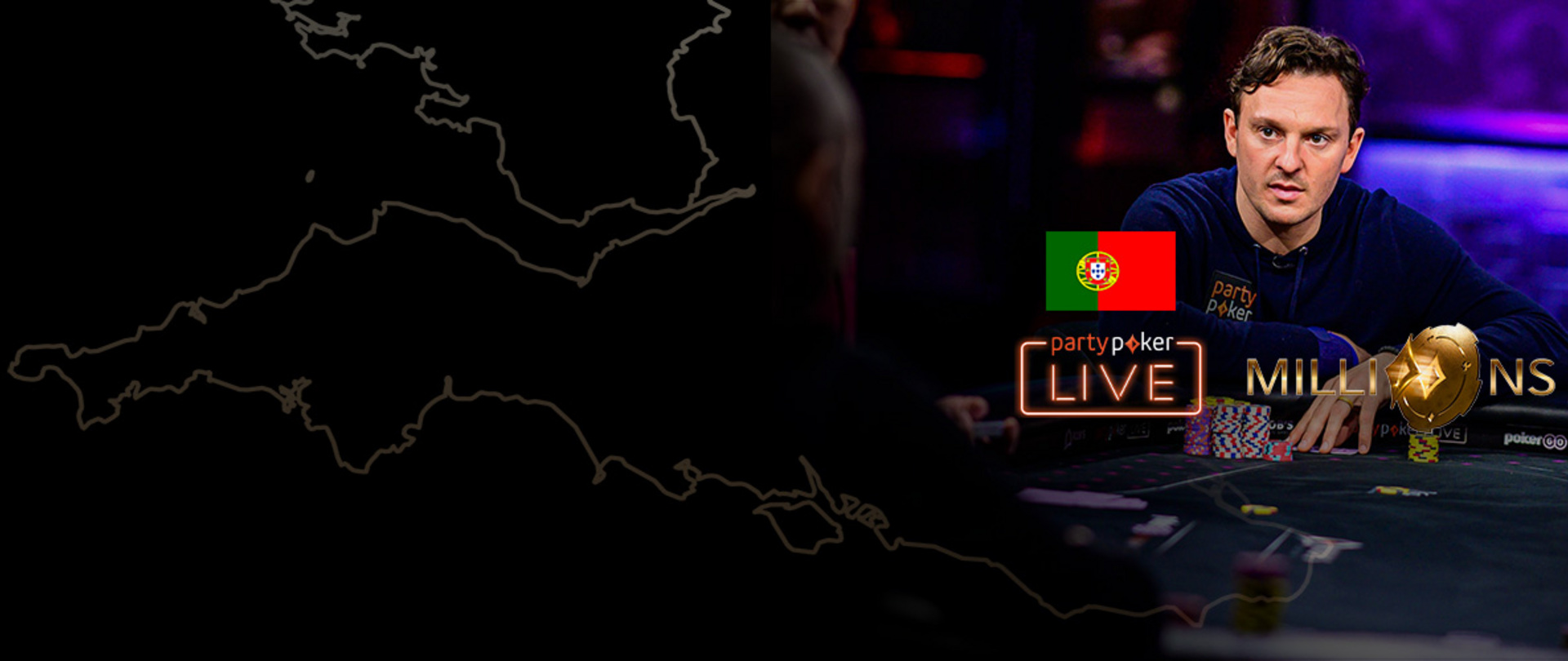 partypoker MILLIONS UK 2020 | $25K Super High Roller | Day 1 (Portuguese)