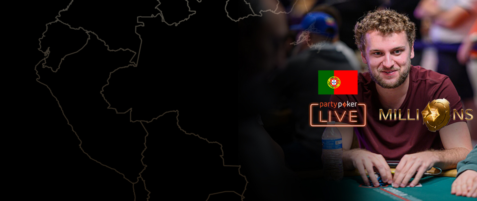 PARTYPOKER MILLIONS SOUTH AMERICA 2020 | $10K MAIN EVENT | DAY 2 (PORTUGUESE)