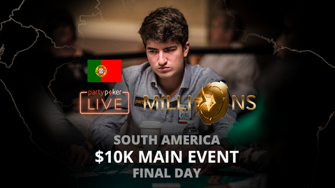 partypoker MILLIONS South America 2020 | $10K Main Event | Final Day (Portuguese)