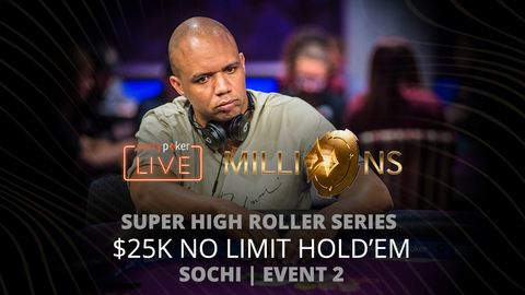 PARTYPOKER MILLIONS SHR SERIES SOCHI 2020 | EVENT #2 $25K NLH | FINAL TABLE