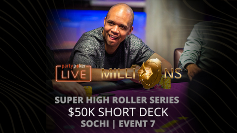 PARTYPOKER MILLIONS SHR SERIES SOCHI 2020 | EVENT #7 $50K SHORT DECK | FINAL TABLE
