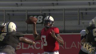 UCF Fall Camp 2016: First Scrimmage Highlights