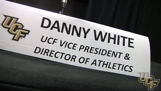 Danny White: Introduced as UCF's Director of Athletics