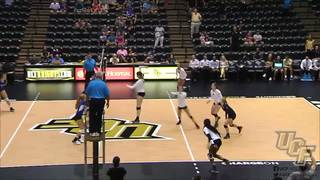 RECAP: UCF Volleyball-Holiday Inn Orlando East UCF Area Challenge Day 1 (9-16-2016)