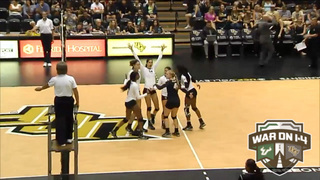 RECAP: UCF Volleyball vs. USF (9-21-16)