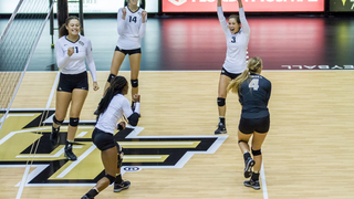 RECAP: UCF Volleyball vs Memphis (9-23-16)