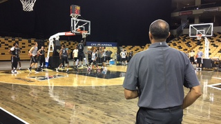 UCF Men's Basketball: First Practice of 2016-17 Season