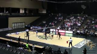 Recap: UCF Volleyball vs. Tulane (10-9-16)