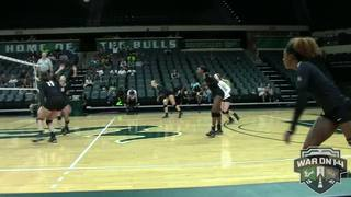 RECAP: UCF Volleyball at USF (11-2-16)