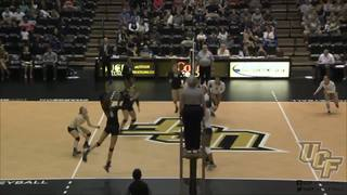 RECAP: UCF Volleyball vs UConn (11-20-16)