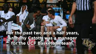 UCF's Anthony Catotti's Inspirational Moment