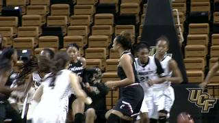 RECAP: UCF Women's Basketball vs. Cincinnati (1-24-17)