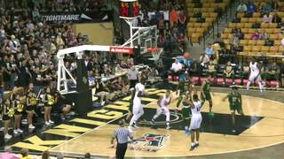 UCF's Matt Williams hits school record 11 threes vs. USF