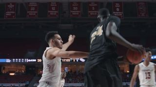 HIGHLIGHTS: UCF MBB at Temple (2-22-17)
