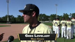 RECAP: UCF Baseball vs. Manhattan (2-26-17)