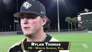 RECAP: UCF Baseball vs. CMU (3-10-17)