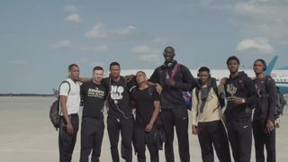 UCF MBB Arrives in NYC for NIT Final Four