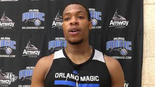 Matt Williams Works Out with Orlando Magic